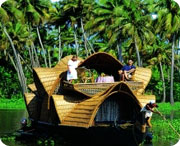 Allepey Backwater, Hill Station travel kerala