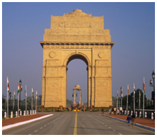India Gate, Adventure Travel India