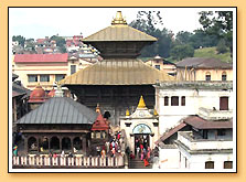 Pashupatinath Temple Nepal, Buddhism in India