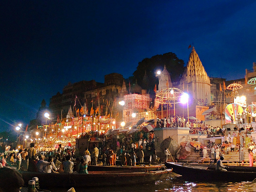 Varanasi Ganges, Buddhist tour of India